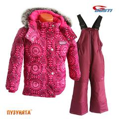 Комплект для девочки зима Gusti X-Trem 5148 Dark Pink