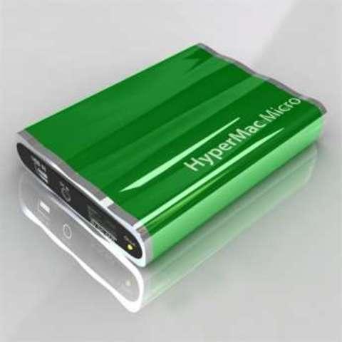 HyperMac Micro 3600mAh – внешняя батарея для iPhone/iPod (Green)
