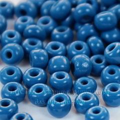 Бисер 3/0 Preciosa непрозрачный, темно-голубой