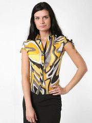 3461-2 блузка женская, желтая