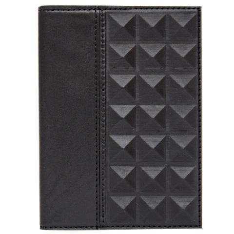 Обложка для паспорта «Геометрия» черная