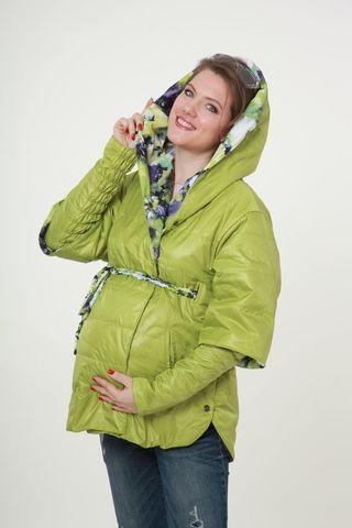 Куртка 04792 салатовый