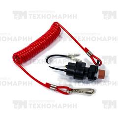 Кнопка аварийного выключения двигателя с чекой Yamaha 688-82575-01