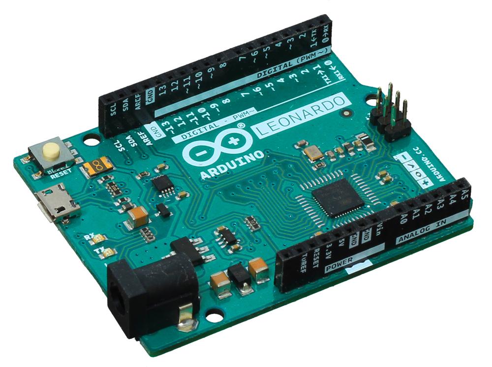 Arduino Leonardo - общий вид