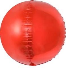 К 24''/61 см Сфера 3D, Красный, 1 шт.