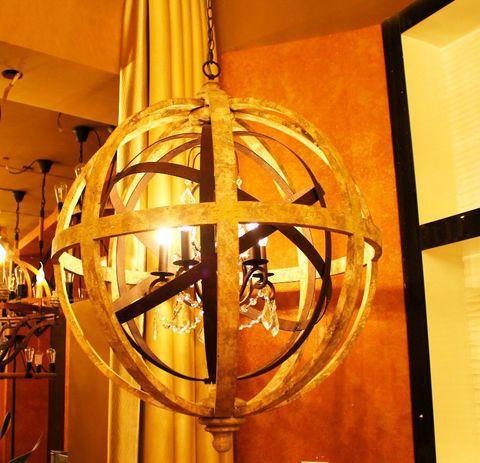 vintage chandelier 50-77 ( by Funky Vintage )