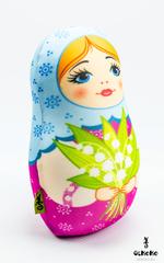 Подушка-игрушка антистресс «Матрешка весенняя» 2