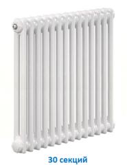 Радиатор Zehnder Charleston 2056 - 30 секций боковое подключение №1270, 3/4