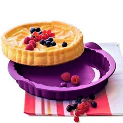 Силиконовая форма для открытого пирога