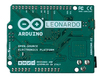 Arduino Leonardo - вид снизу