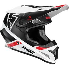 Sector Split Helmet / Черно-белый