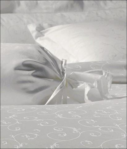 Постельное белье 2 спальное евро Janine Rubin белое