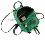 Рюкзак из кожи питона BG-276