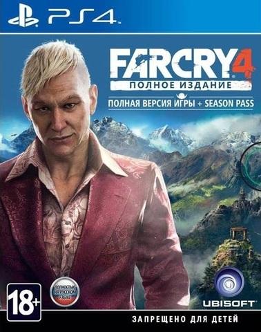 PS4 Far Cry 4. Полное издание (русская версия)