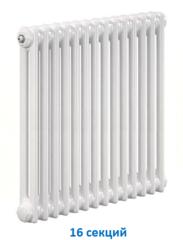 Радиатор Zehnder Charleston 2056 - 16 секций боковое подключение №1270, 3/4