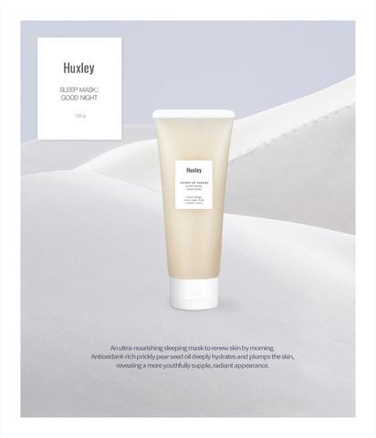 Питательная восстанавливающая ночная маска, 120 г / Huxley Secret of Sahara SLEEP MASK ; GOOD NIGHT