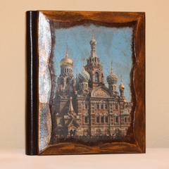 Фотоальбомы с деревянной обложкой и Вашим рисунком