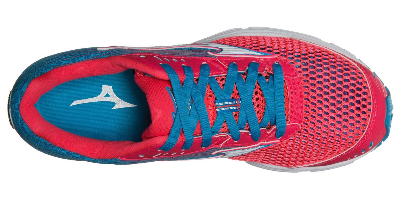 Женские беговые кроссовки полумарафонки Mizuno Wave Sayonara 3 (J1GD1530 01)  голубые