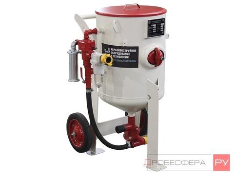 Пескоструйный аппарат DSMG-100 литров с дистанционным управлением