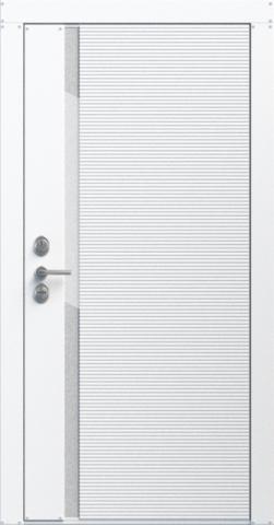 Входная дверь «Flexo» в цвете, Эмаль белая