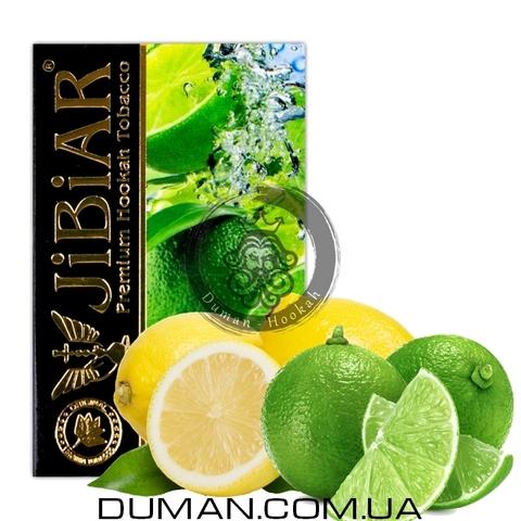 Табак JiBiAR Lime Crush (Джибиар Лайм Краш - Лайм Лимон) 50g