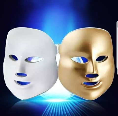 Светодиодная LED-маска для лица ( 7 цветов )