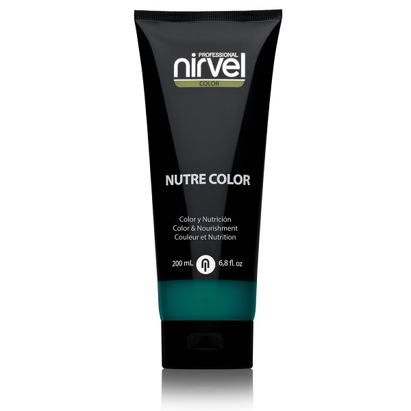 Гель-маска питательная Бирюзовая Nirvel Nutre Color Turquoise 200мл
