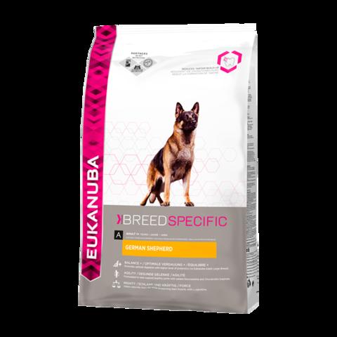 Eukanuba Dog German Shepherd Сухой корм для взрослых собак породы Немецкая овчарка