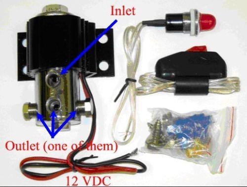 схема вх/вых - Электронный Brake lock