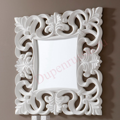 Зеркало DUPEN (Дюпен)  PU021 белое
