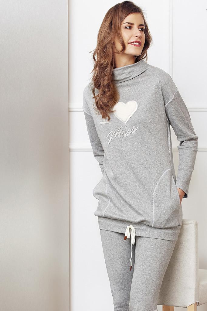 Зимний домашний костюм для женщин DiBen (Домашние костюмы и пижамы)