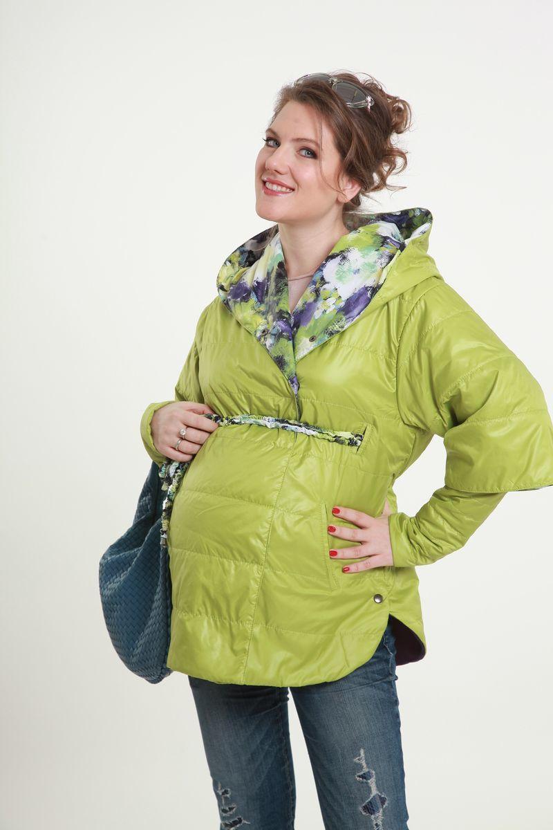 Куртка для беременных 04792 салатовый