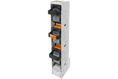 Планочный выключатель-разъединитель с функцией защиты три рукоятки ППВР 2/185-1 3П 400A TDM