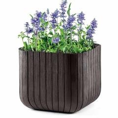 Кашпо для сада Keter Cube Planter 50L