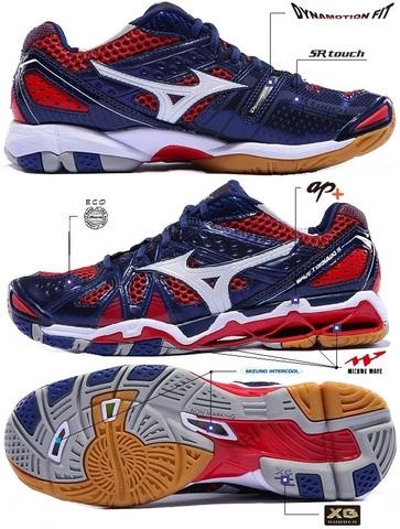 Кроссовки волейбольные MIZUNO WAVE TORNADO 9 V1GA141201
