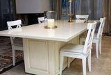 Стол из мрамора Крема Нова