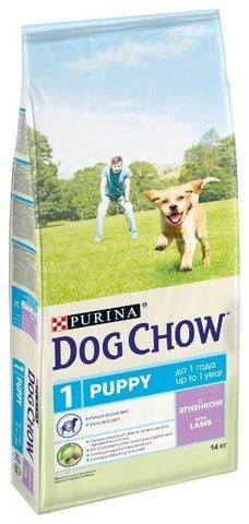 Dog Chow Puppy с ягненком 14 кг