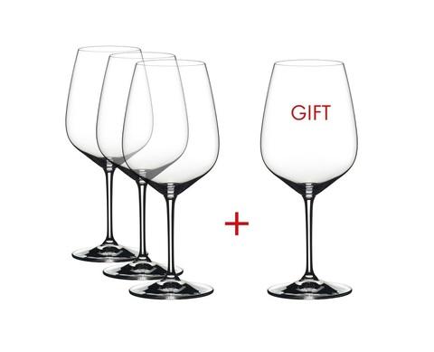 Набор из 4-х бокалов для вина Cabernet Sauvignon Pay 3 Get 4 800 мл, артикул 4411/0. Серия Extreme.