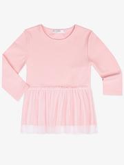 GWT000408 блузка детская, розовая
