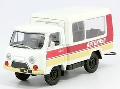 UAZ-3303 T12.01 Auto Cinema Club USSR 1:43 DeAgostini Service Vehicle #55