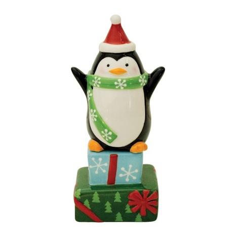 Набор солонка и перечница Boston Warehouse Merry Penguin