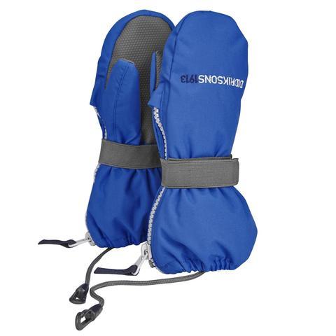 Варежки детские Didriksons Biggles zip - Indigo Blue (лазурный)