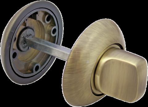 Фурнитура - Завёртка  Morelli MH-WC MAB, цвет матовая бронза ЦАМ - (сплав, содержащий цинк, алюминий и медь) + многослойное гальваническое покрытие
