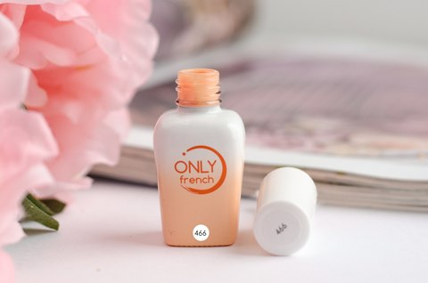 Гель-лак Only French, Orange Touch №466, 7ml