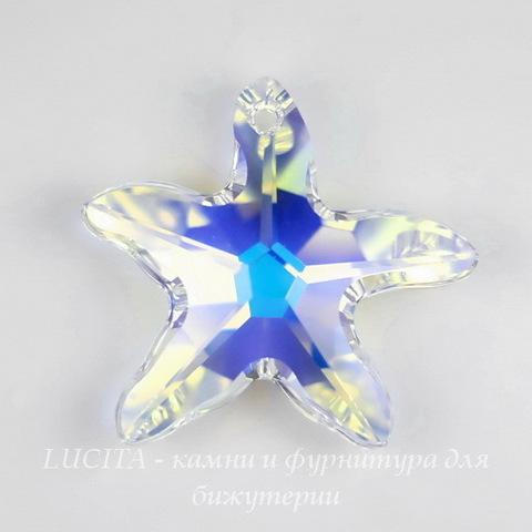 6721 Подвеска Сваровски Морская Звезда Crystal AB (28 мм)