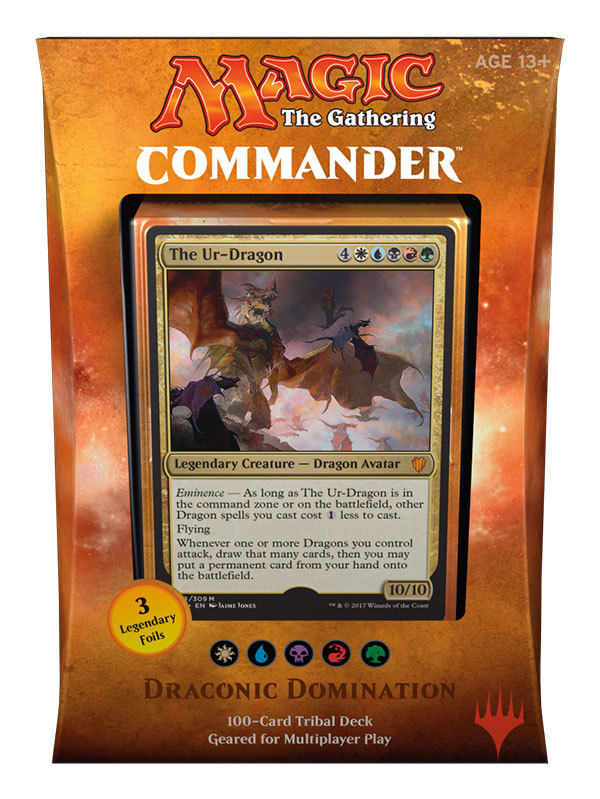 Commander 2017: Draconic Domination 5 Colors (eng)