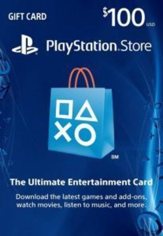 Карта оплаты PlayStation Network Card USA 100$ (код)