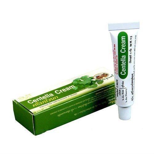 Abhaibhubejhr Centella Cream Заживляющий крем на основе Центеллы, 10 мл