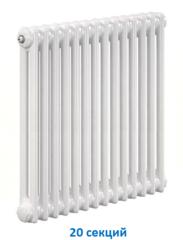 Радиатор Zehnder Charleston 2056 - 20 секций боковое подключение №1270, 3/4
