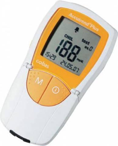 Прибор Аккутренд Плюс / Accutrend Plus mmol для определения уровня глюкозы, холестерина, триглицеридов и лактата в капиллярной крови